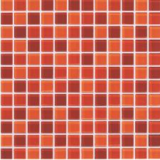 Crossville - Glass Blox Orange Sizzle / Flame / Dazzle Red