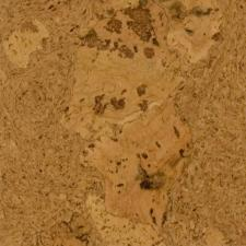 Duro Design - Cleopatra Cork Floating Floor Sunny Yellow