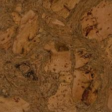 Duro Design - Cleopatra Negra Cork Floating Floor Leather Brown