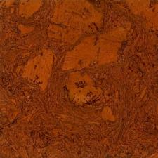 Duro Design - Cleopatra Negra Cork Tile Red Maple
