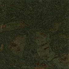 Duro Design - Cleopatra Negra Cork Tile Steel Green