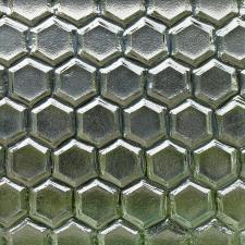 Nathan Allan Glass Studio, Inc. - Geometric Textures Hex