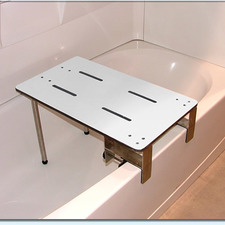 Access-Able Designs - Bathtub Benches Portable Clamp-On Tub Seat
