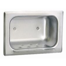 Bobrick - Shower/Tub Accessories Recessed Heavy-Duty Soap Dish