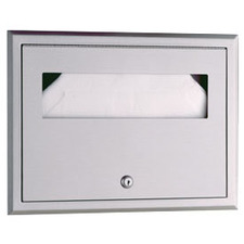 Bobrick - Classic Series Recessed Seat-Cover Dispenser