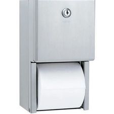 Bobrick - Toilet Tissue Dispensers Surface-Mounted Multi-Roll Toilet Tissue Dispenser