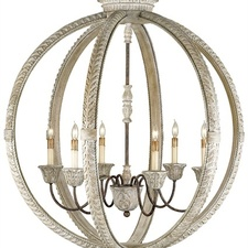 Currey and Company - Big Chandeliers Dauphin Chandelier, Large