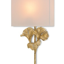 Currey and Company - Wall Sconces Gingko Wall Sconce