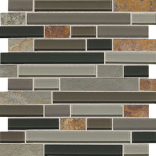 Daltile - Glass,_Metal_&_Decorative_Accents Slate Radiance