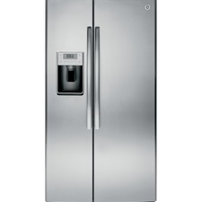 GE Appliances - Free-Standing Side-By-Side Refrigerators GE Profile™ Series 28.4 Cu. Ft. Side-by-Side Refrigerator