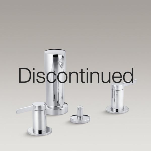 Bathroom Stillness Vertical Spray Bidet Faucet With Lever Handles