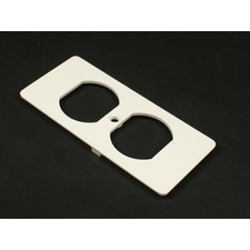 Wiremold - Raceway 5500 Duplex Recptacle Faceplate Fitting