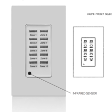 Leviton - Dimming D4200 Remote Stations