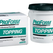 National Gypsum - ProForm® Topping Joint Compound