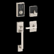 Schlage - Century Style Schlage Touch™ and Handleset with Latitude Lever