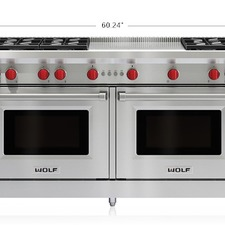 Sub-Zero/Wolf - Gas-range 60-inch-gas-range-6-burners-french-top