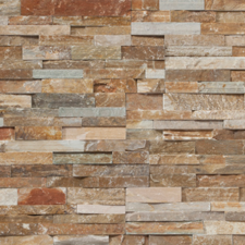 Trinity Tile - natural stone panels edge stone